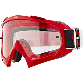 O'Neal B-10 Lunettes de protection, twoface red-clear
